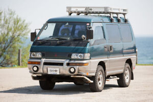 Right Hand Mitsubishi Delica 4x4 Turbo Diesel Postal Vehicle