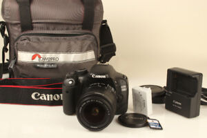 Canon EOS Rebel T2i (550D)DSLR Camera with 18-55mm f/3.5-5.6 IS