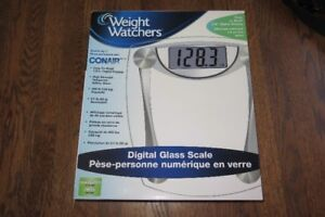 Pèse-personne NEUF balance Weight Watchers Conair