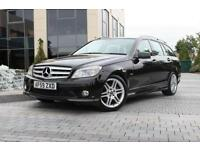2009 59 MERCEDES-BENZ C CLASS C180 KOMPRESSOR BLUEEFFICIENCY SPORT 1.6 5D AUTO