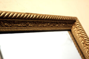 Perfect Antique Large Mid 20's Mirror  SEE VIDEO