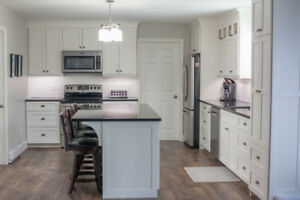 Custom built wood kitchens!