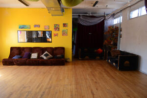 Commercial Loft/ Art Dance Studio for Rent