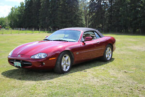 CONVERTIBLE RED JAGUAR FOR SALE