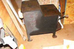 Older Bear Claw wood stove suitable for shop or cabin