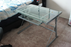 Glass Desk for $20 OBO