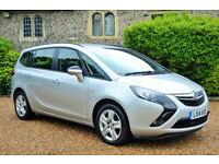 Vauxhall Zafira Tourer 2.0CDTi 16v 2014 Exclusiv, 47k MILES, FULL VAUXALL HIST