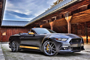 2016 Ford Mustang GT CONVERTIBLE PREMIUM W/AUTO, NAVIGATION