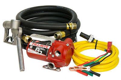 Tuthill Fill Rite Rd812nh 12 V Dc 8 Gpm Fuel Transfer Pump Heavy Duty Portable
