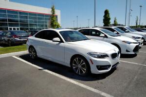 BMW 228 Xdrive 2015 (série 2) - **1 mois gratuit** + 600$ offert