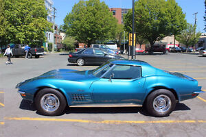 72 Corvette stingray - fully restored