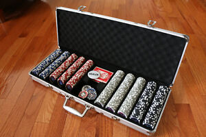 High Quality Poker Chip Set (over 10 pounds)