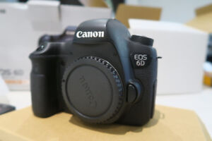 Canon 6D Body Only with Box