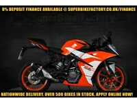 2017 17 KTM RC 125 125CC 0% DEPOSIT FINANCE AVAILABLE