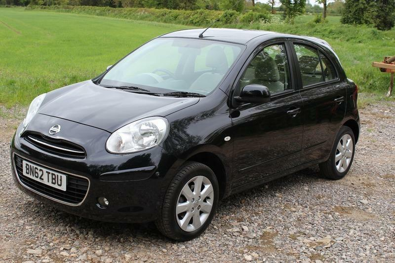 nissan micra 2012 1 2 kuro in malmesbury wiltshire gumtree. Black Bedroom Furniture Sets. Home Design Ideas
