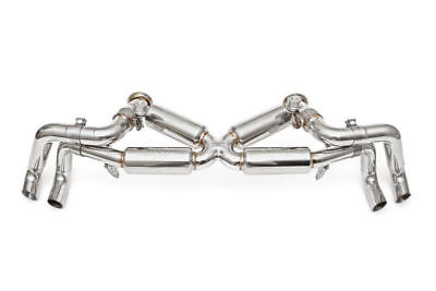 FABSPEED SUPERSPORT X-PIPE VALVED EXHAUST SYSTEM for 2014-18 LAMBORGHINI HURACAN