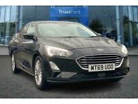 2019 Ford Focus TITANIUM X With Front + Rear Parking Sensors + Sync 3 Navigation