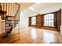 Rare warehouse conversion situated by the Limehouse Cut E14