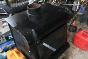 shop or cabin stove