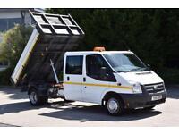 2.2 350 DRW 4D 124 BHP RWD 6 SEATER D/CAB EURO 5 COMBI DIESEL TIPPER 2014