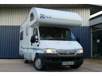 Ace Napoli 4 berth rear lounge DIESEL MANUAL 2004/04