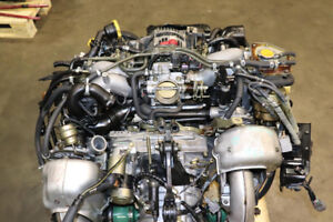 JDM 98-03 Subaru Legacy GT Twin Turbo Engine 5 Speed M/T 4.11 FD
