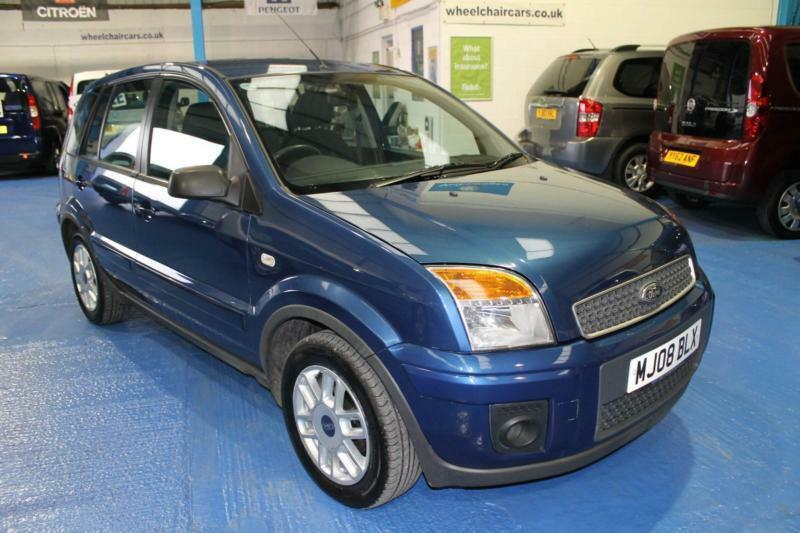 Ford Fusion 1.4TDCi 2008.25MY Zetec Climate