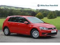 2017 Volkswagen Golf S 1.0 TSI 85PS 5-speed Manual 5 Door Petrol red Manual