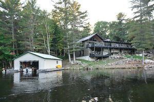 STUNNING, COMPLETELY RENOVATED COTTAGE ON GO HOME LAKE