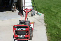 ROTOTILLER SNAPPER RT8 WITH HILLER/FURROWER