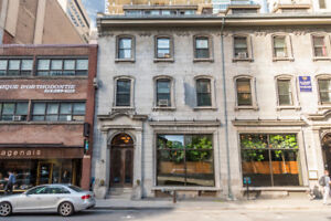 Small Cute Office For Rent! Downtown, Near Place Ville Marie!!