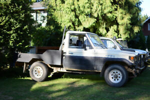 1988 Toyota Land Cruiser BJ75 Pickup Truck