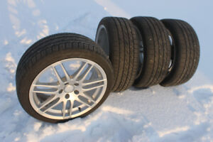 """Audi/VW 18"""" Wheels and Tires"""
