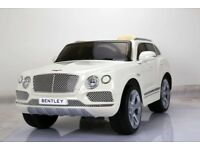 Bentley Bentayga SUV licensed electric 12v ride on car with parental control