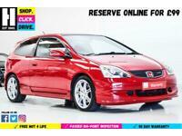 2005 Honda Civic 2.0 i-VTEC Type R 3dr Hatchback Petrol Manual