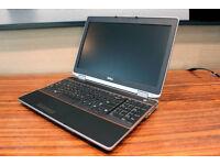 """Dell E6520 i7 CPU, 8GB RAM, 256GB SSD, 17"""" screen. Windows 7,"""
