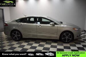 2015 Ford Fusion Titanium AWD- LEATHER * CRUISE * SUNROOF