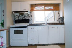 Small Kitchen As Is - Cabinets & Appliances