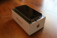 iPhone 4 with box - like new