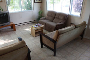 Studio style furnished rooms all included.