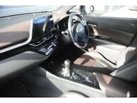 2017 Toyota CHR 1.2 T (115bhp) Excel Petrol grey Manual