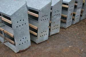 Galvanized Nest Boxes