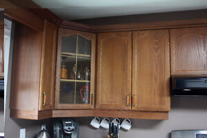 Complete Oak Kitchen Cabinets London Ontario image 8