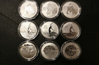 Silver coins from RCM $20 for $20 series