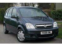 2009 Vauxhall Meriva 1.4i 16V Life 5dr 5 door MPV