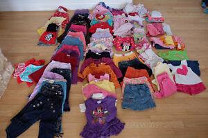 Lot de vêtements pour filles 24 mois - 2T