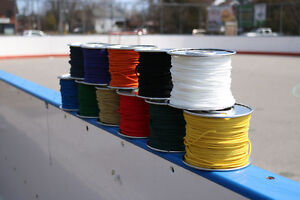 Lacrosse mesh and stringing supplies