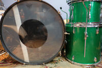 """Ludwig 1970s Drumset w/ a Rogers Dynasonic 1976 5x14"""""""