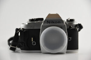 Nikon FG, classic film camera, mint condition, lens avail, 50 mm