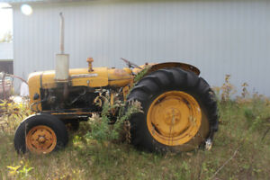 1960 Fordson Super Major Tractor, hoe drill & cutter